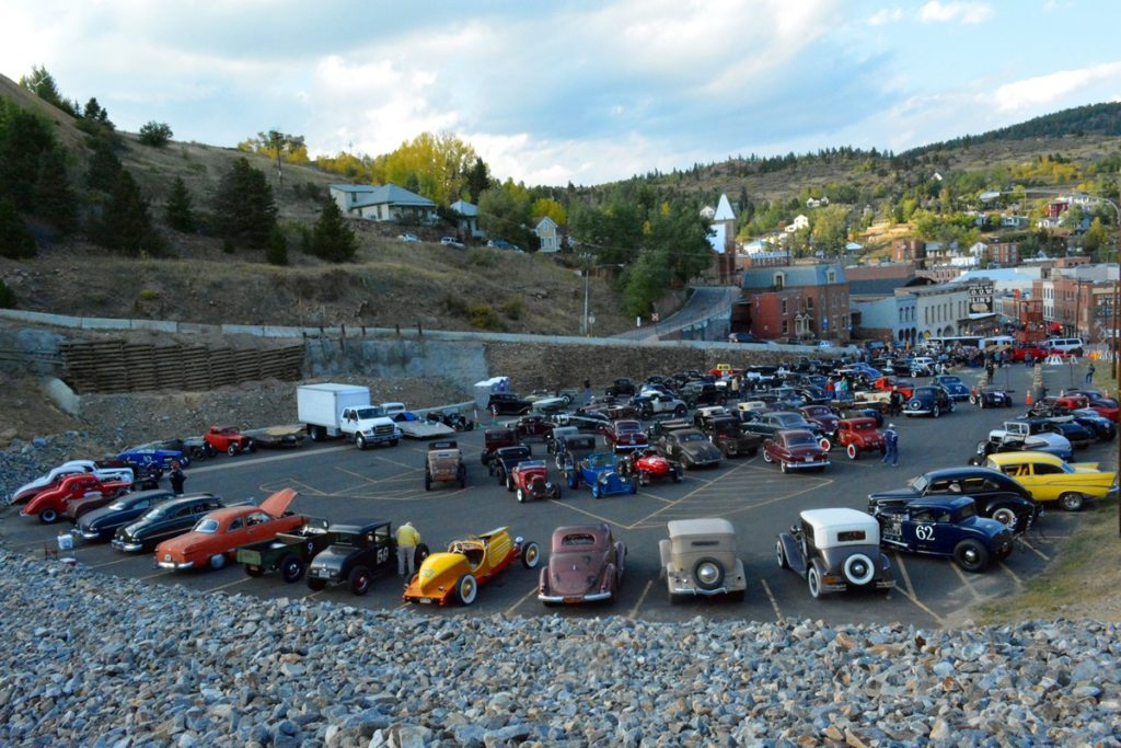 The Big T lot was full after the Reliability Run, great times!